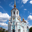 Orthodox temple of saint Alexander is in Kharkiv (Ukraine) — Stock Photo #9469983
