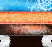 Creative banners — Stock Vector