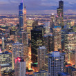 Royalty-Free Stock Photo: Chicago skyline panorama aerial view