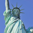 Statue of Liberty closeup in New York City Manhattan — Stock Photo