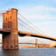 Stock Photo: Brooklyn Bridge panorama