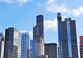 Chicago skyscrapers — Stock Photo