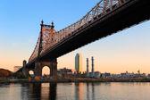 Queensboro Bridge — Stock Photo