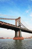 Pont de manhattan de new york city — Photo