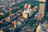 Boston downtown — Stockfoto
