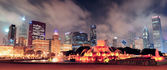 Chicago panorama — Stock Photo