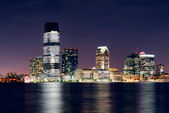 Jersey City skyline — Stock Photo