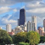Chicago skyline — Stock Photo #9087010