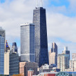 Stock Photo: Chicago city urban skyline