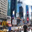 New York City Manhattan Times Square — Stock Photo