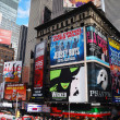 ville de New york manhattan times square — Photo