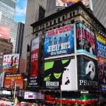 New York City Manhattan Times Square — Stock Photo