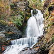 Autumn Waterfall in mountain — Stock Photo #9087716
