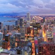 Chicago skyline panorama aerial view — Stock Photo #9089388