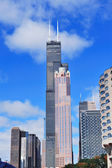 Chicago Willis tower — Stock Photo