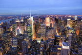 New York City Manhattan Times Square night — Stock Photo