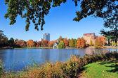 New York City Central Park Autumn — 图库照片