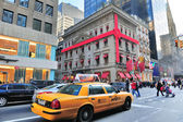 New York City Fifth Avenue street view — Stock Photo
