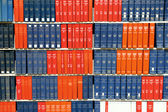 Books in library — Stock Photo