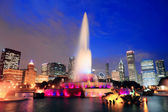 Chicago Buckingham Fountain — Stock Photo