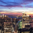 New York City sunset — Stock Photo #9422947