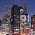 New York City urban skyscraper — Stock Photo #9423021