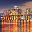 Miami night scene — Stock Photo #9423217
