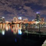 Orlando night panorama — Stock Photo #9423601