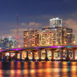 Stock Photo: Miami night scene