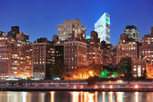 New York City Manhattan midtown skyline — Foto Stock