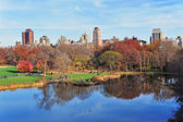 New York City Central Park in Autumn — Stock Photo