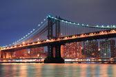 ニューヨーク市マンハッタン橋 — ストック写真