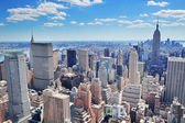 New York City Manhattan panorama — Photo
