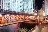 σικάγο ποταμού — Φωτογραφία Αρχείου