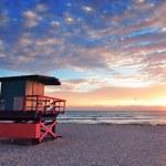 Miami South Beach sunrise — Stock Photo #9859053