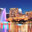 Orlando at night — Stock Photo #9859066