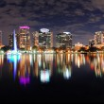 Orlando night panorama — Stock Photo #9859292