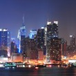 New York City Manhattan midtown skyline — Stock Photo #9859366