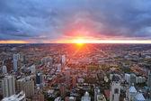 Chicago günbatımı — Stok fotoğraf