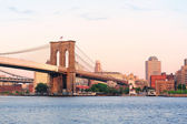 New York City Manhattan Brooklyn Bridge — Stock Photo