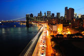 New york city manhattan downtown — Foto Stock