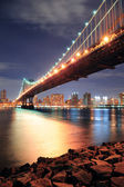 New York City Manhattan Bridge — Stock Photo