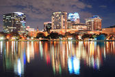Crepuscolo downtown orlando — Foto Stock