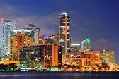 迈阿密城市建筑 — 图库照片