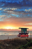 Miami South Beach sunrise — Stock Photo