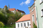 Castle Burghausen and Old City of Burghausen, Germany — Stock Photo