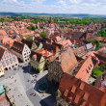 Rothenburg ob der Tauber, Germany — Stock Photo #10709614