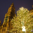 Christmas illuminations in Munich, Germany — Stock Photo