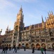 City Hall and Frauenkirche in Munich, Germany — Stock Photo #9271712