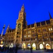City Hall and Frauenkirche in Munich, Germany — Stock Photo